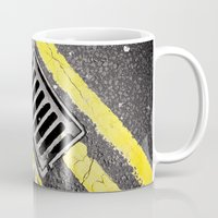 grid Mugs featuring Grid by premedia