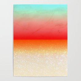 Experimental Glitter II Poster