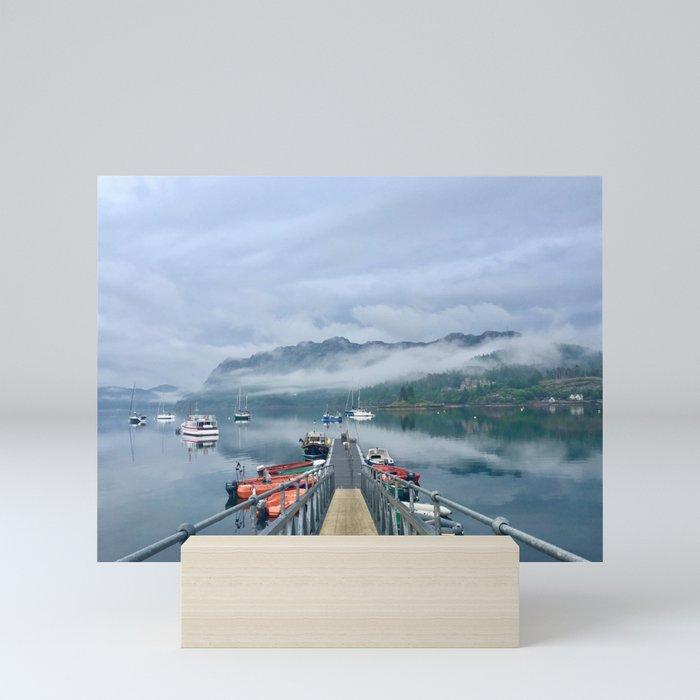 Loch Carron After a Rain Storm Mini Art Print
