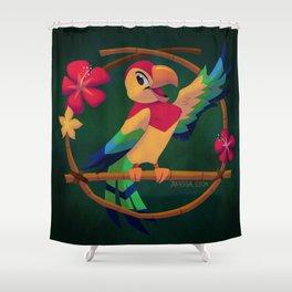 José the Tiki Bird Shower Curtain
