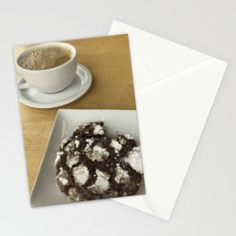 molasses cookie Stationery Cards