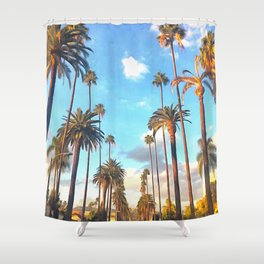 L.A. Morning Shower Curtain
