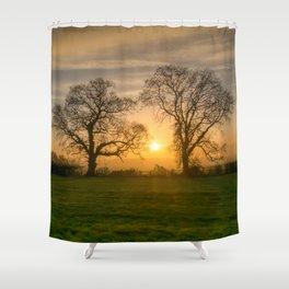 Winter Sunrise 3 Shower Curtain