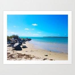 Seashore Serenity Art Print