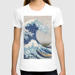 Under the Wave off Kanagawa Japanese Art T-shirt