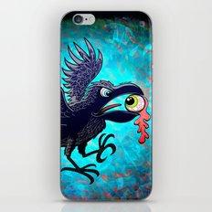 Crow Stealing an Eye iPhone & iPod Skin