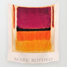 Mark Rothko Exhibition poster 1979 Wall Tapestry