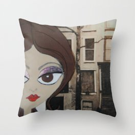 6th and Main Throw Pillow