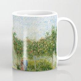 Vincent Van Gogh - Garden in Montmatre with Lovers Coffee Mug