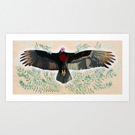 Turkey Vulture is Honoured Art Print
