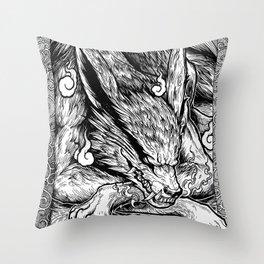 Kurama Kyubi Throw Pillow