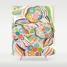 Blossom Colorful Shower Curtain