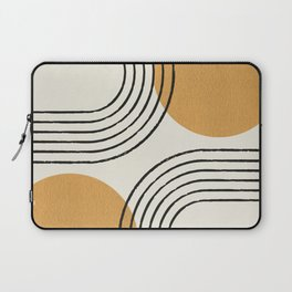 Sun Arch Double - Gold Laptop Sleeve