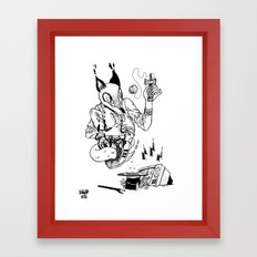 Magic Trick! Framed Art Print