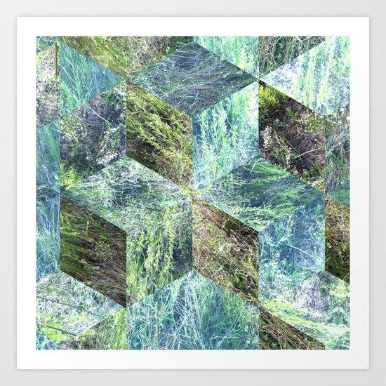 Super Natural No.7 Art Print