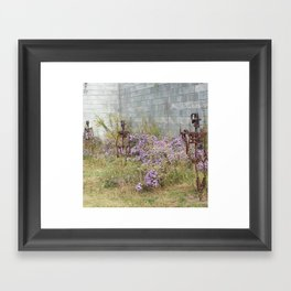Skeltons Walking Framed Art Print