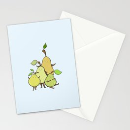 Pear Shapes Stationery Cards
