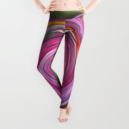 Amaryllis Party Leggings