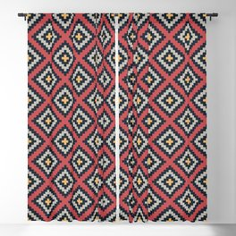 Aztec pattern design Blackout Curtain
