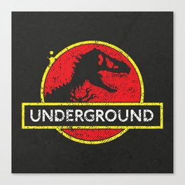 Monsters of the Underground Canvas Print