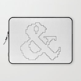Ampersand pixel Laptop Sleeve