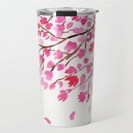 Rain of Cherry Blossom Travel Mug