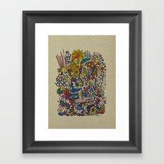 - romantic summer - Framed Art Print