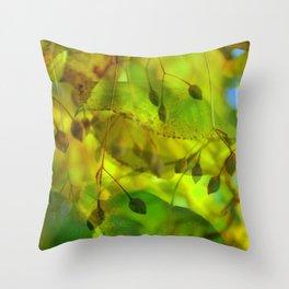 Autumn Vision Throw Pillow