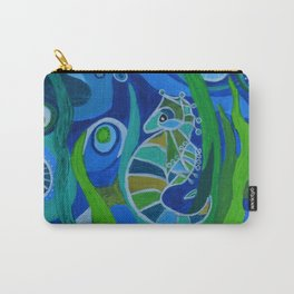 Seahorse Sea Carry-All Pouch