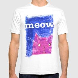 Crayon Cat T-shirt