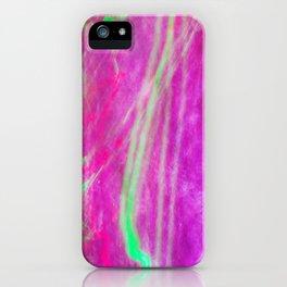 Liquid Light 3 - light painting experiment iPhone Case