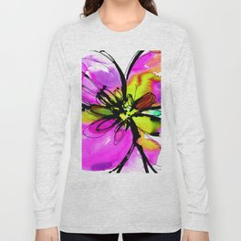 Ecstasy Bloom No.17e by Kathy Morton Stanion Long Sleeve T-shirt