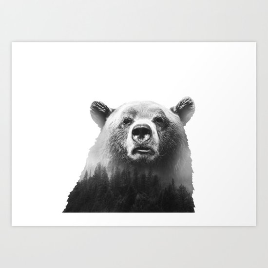 Big Bear #3 Art Print
