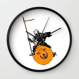 Everyday Heroes - Bounce Champion Wall Clock