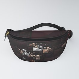 Abstract Geometric Art Colorful Design 501 Fanny Pack