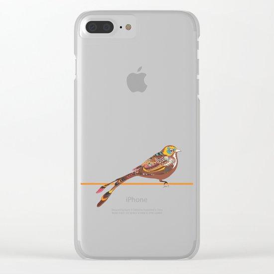 Monday Spirit Clear iPhone Case