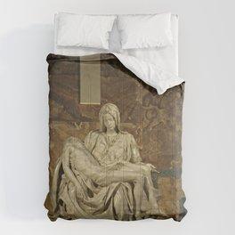 Michelangelo's Pieta in St. Peter's Basilica                                              Comforters