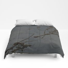 Jackson Pollock Inspired Study In Black - Glam Comforters