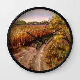 Trail Home Wall Clock