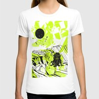 depression T-shirts featuring Depression on a Lonely Planet by MAKE ME SOME ART