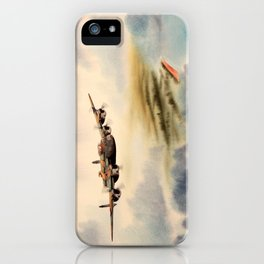Avro Lancaster Aircraft iPhone Case