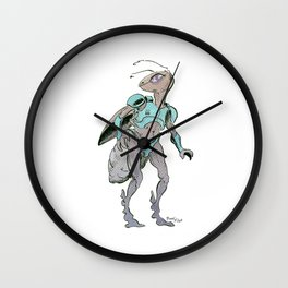 Space Ant Wall Clock