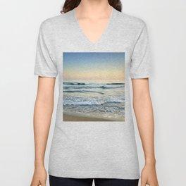 Serenity sea. Vintage Unisex V-Neck