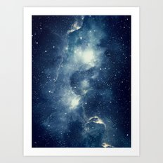 Galaxy Next Door Art Print