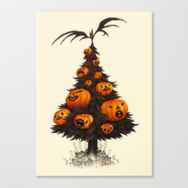 Hallow Tree Canvas Print