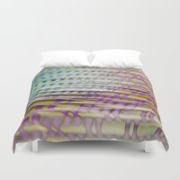 breathe Duvet Covers featuring Breathe by mimulux