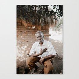 Grandfather of Mfuwe Canvas Print