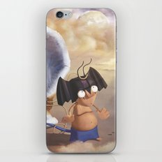 silen and devil iPhone & iPod Skin
