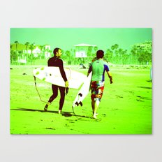 California Surfers Canvas Print