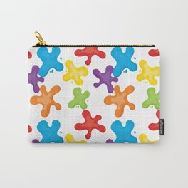 Paint splatters Carry-All Pouch